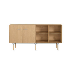 Ven Open Credenza | Sideboards | Design Within Reach