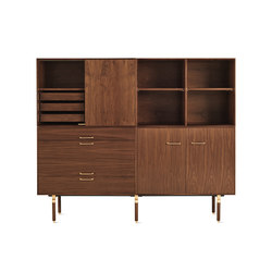 Ven Mixed Wall Unit | Sideboards | Design Within Reach
