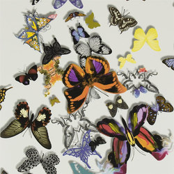 Carnets Andalous Wallpaper | Butterfly Parade - Multicolore | Wandbeläge | Designers Guild