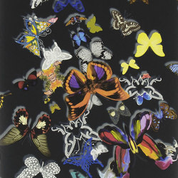 Carnets Andalous Wallpaper | Butterfly Parade - Oscuro | Wallcoverings | Designers Guild