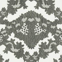 Carnets Andalous Wallpaper | Macarena Galuchat - Oscuro | Papeles pintados | Designers Guild