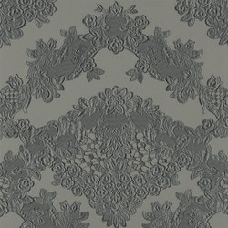 Carnets Andalous Wallpaper | Macarena Galuchat - Hierro | Carta da parati | Designers Guild