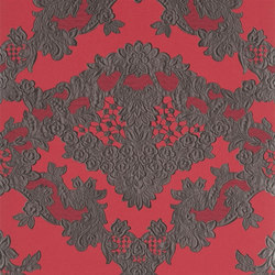 Carnets Andalous Wallpaper | Macarena - Carmin | Wall coverings | Designers Guild