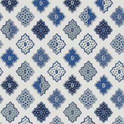 Carnets Andalous Wallpaper | Alcazar - Cobalt | Papeles pintados | Designers Guild
