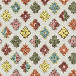 Carnets Andalous Wallpaper | Alcazar - Milticolore | Papeles pintados | Designers Guild