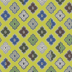 Carnets Andalous Wallpaper | Alcazar - Safran | Wall coverings | Designers Guild