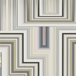Carnets Andalous Wallpaper | Abstract Malachite - Multicolore | Wall coverings | Designers Guild