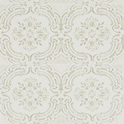 Carnets Andalous Wallpaper | Azulejos - Ivoire | Wallcoverings | Designers Guild
