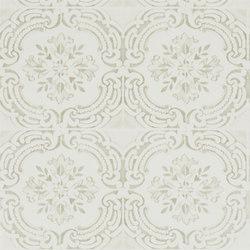Carnets Andalous Wallpaper | Azulejos - Ivoire | Carta da parati | Designers Guild