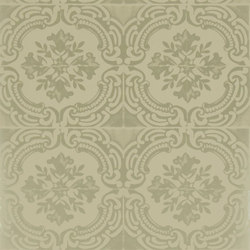 Carnets Andalous Wallpaper   Azulejos - Dore   Papeles pintados   Designers Guild
