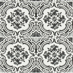Carnets Andalous Wallpaper | Azulejos - Oscuro | Wallcoverings | Designers Guild
