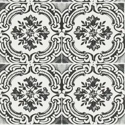 Carnets Andalous Wallpaper | Azulejos - Oscuro | Papeles pintados | Designers Guild