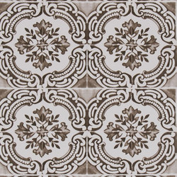 Carnets Andalous Wallpaper | Azulejos - Oeillet | Wall coverings | Designers Guild