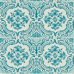 Carnets Andalous Wallpaper | Azulejos - Lagon | Wandbeläge | Designers Guild