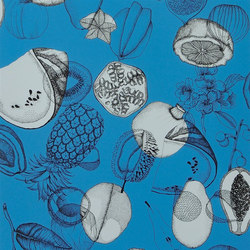Nouveaux Mondes Wallpaper | Parati - Saphir | Wall coverings / wallpapers | Designers Guild