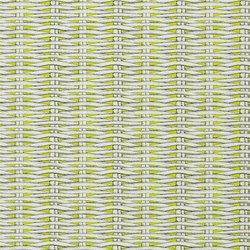 Nouveaux Mondes Wallpaper | Barbade - Lime | Wallcoverings | Designers Guild