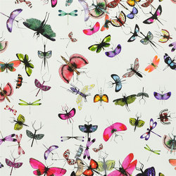 Nouveaux Mondes Wallpaper | Mariposa - Perroquet | Wall coverings / wallpapers | Designers Guild