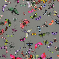Nouveaux Mondes Wallpaper | Mariposa - Perle | Wallcoverings | Designers Guild
