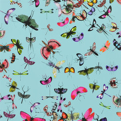Nouveaux Mondes Wallpaper | Mariposa - Celadon | Wall coverings / wallpapers | Designers Guild