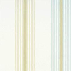 Oxbridge Wallpaper | Pembroke - Duck Egg | Carta da parati | Designers Guild