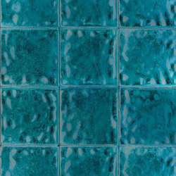 Palasini Wallpaper | Aquarelle - Turquoise | Papeles pintados | Designers Guild