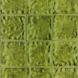 Palasini Wallpaper | Aquarelle - Peridot | Wall coverings / wallpapers | Designers Guild
