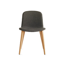 Bacco Chair in Fabric | Oak Legs | Visitors chairs / Side chairs | Design Within Reach