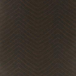 Signature Century Club Wallpaper | Burchell Zebra - Ebony | Papeles pintados | Designers Guild