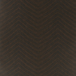 Signature Century Club Wallpaper | Burchell Zebra - Ebony | Wallcoverings | Designers Guild