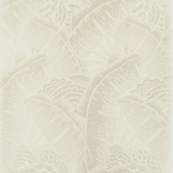 Signature Century Club Wallpaper | Coco De Mer - Opal | Wall coverings / wallpapers | Designers Guild