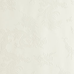 Signature Century Club Wallpaper | Jinping Dragon - Pearl | Carta da parati | Designers Guild