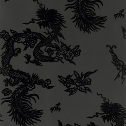 Signature Century Club Wallpaper | Jinping Dragon - Pearl | Wall coverings / wallpapers | Designers Guild