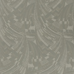 Signature Century Club Wallpaper | Josephine Deco - Mercury Glass | Wallcoverings | Designers Guild