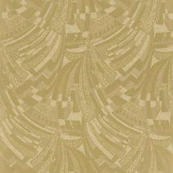 Signature Century Club Wallpaper | Josephine Deco - Champagne | Wallcoverings | Designers Guild