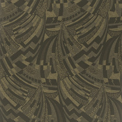 Signature Century Club Wallpaper | Josephine Deco - Marcasite | Wall coverings | Designers Guild