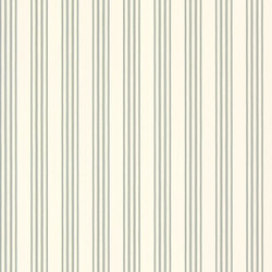 Signature Century Club Wallpaper | Palatine Stripe - Peacock | Papeles pintados | Designers Guild
