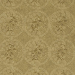 Signature Century Club Wallpaper | River Basin Fresco - Adobe | Papiers peint | Designers Guild