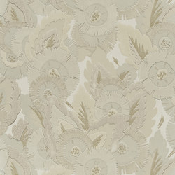 Signature Century Club Wallpaper | Waldorf Floral - Opal | Carta da parati | Designers Guild