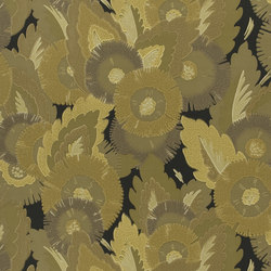 Signature Century Club Wallpaper | Waldorf Floral - Old Gold | Wall coverings / wallpapers | Designers Guild