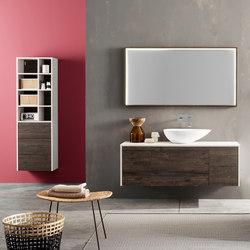 Kami | Composizione 02 | Contenitori bagno | Mastella Design
