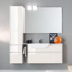 Kami | Composizione 09 | Contenitori bagno | Mastella Design