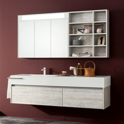 Kami | Composition 14 | Mirror cabinets | Mastella Design