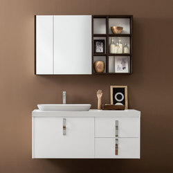 Kami | Composition 17 | Mirror cabinets | Mastella Design