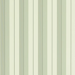 Stripes And Plaids  Wallpaper | Aiden Stripe - Granite / Cream | Wallcoverings | Designers Guild