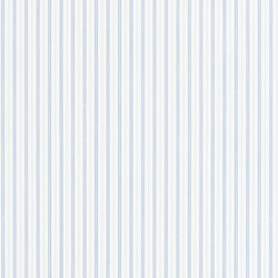 Signature Papers Wallpaper | Marrifield Stripe - Denim | Wallcoverings | Designers Guild
