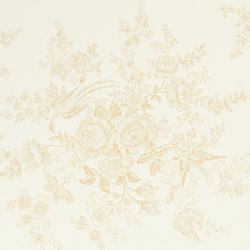 Signature Papers Wallpaper | Vintage Dauphine - Cameo | Papeles pintados | Designers Guild
