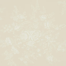 Signature Papers Wallpaper | Vintage Dauphine - Alabaster | Wallcoverings | Designers Guild
