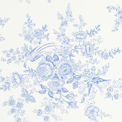 Signature Papers Wallpaper | Vintage Dauphine - Porcelain | Wall coverings | Designers Guild