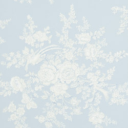 Signature Papers Wallpaper | Vintage Dauphine - Sky | Papeles pintados | Designers Guild