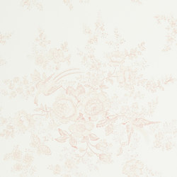 Signature Papers Wallpaper | Vintage Dauphine - Petal Pink | Wall coverings | Designers Guild